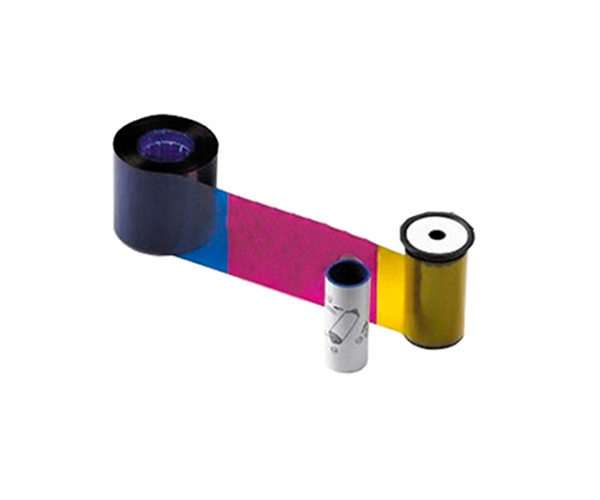 Цветная лента совместимая с принтером Datacard 535000-006 YMCKT-KT