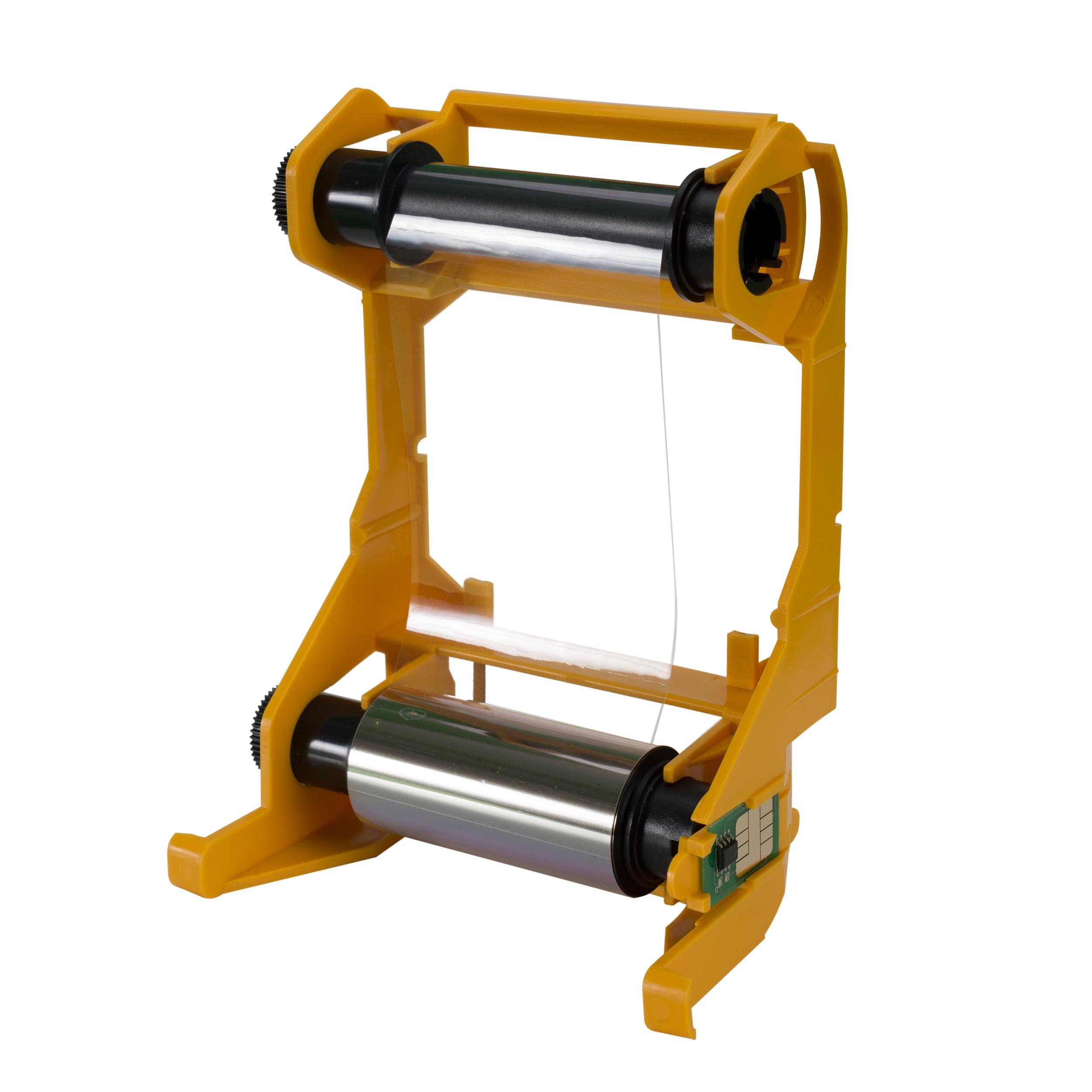 Цветная лента совместимая с принтером Zebra 800011-140 YMCKO Compatible ribbon