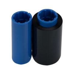 Черная лента совместимая с принтером Zebra 800015-101 BLACK Compatible ribbon
