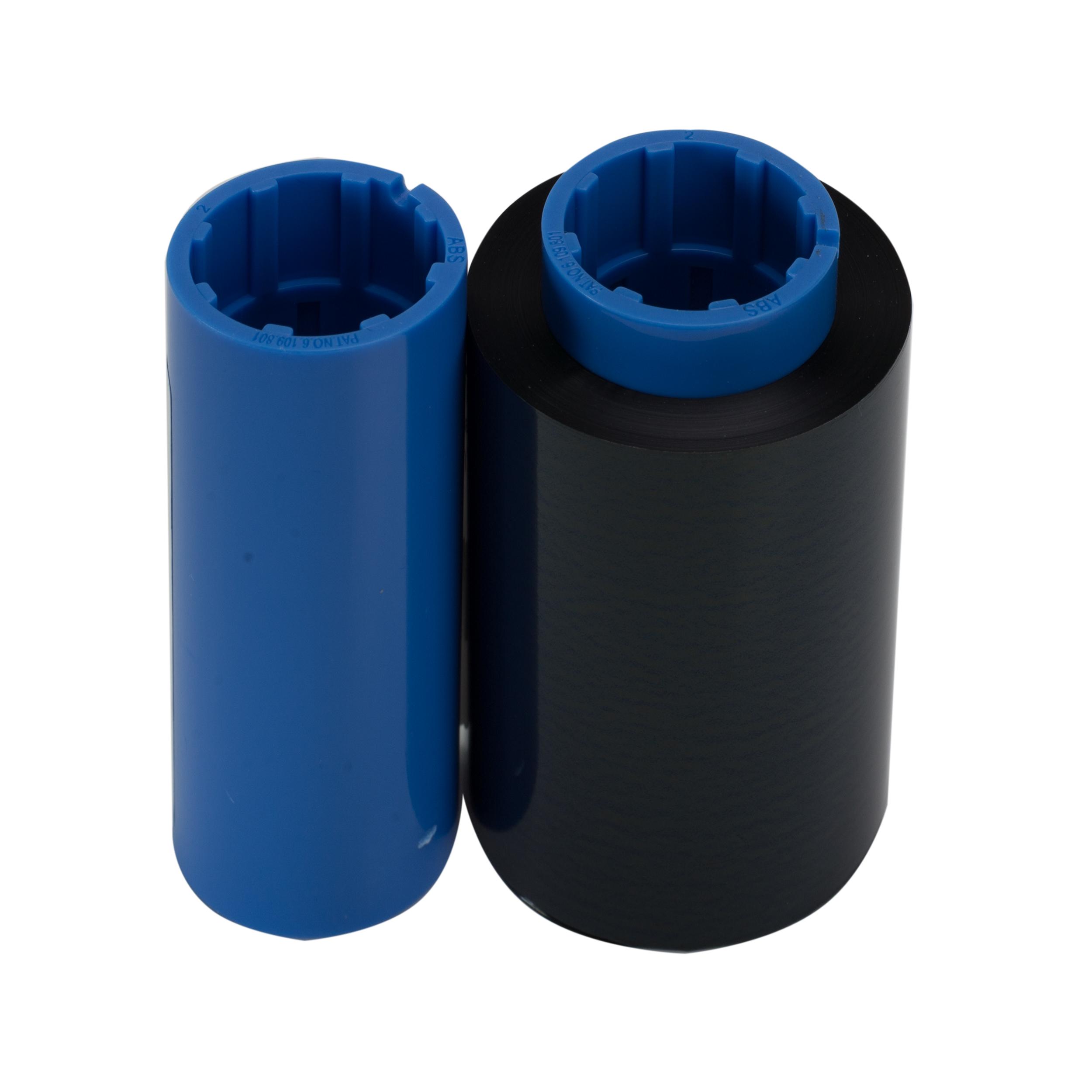 Чорна стрічка сумісна з принтером Zebra 800015-101 BLACK Compatible ribbon