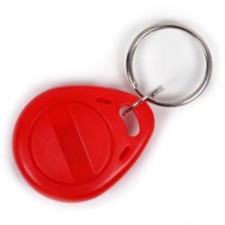 Бесконтактный перезаписываемый RFID-брелок с чипом Atmel (Temic) T5557, T5577 с железным кольцом