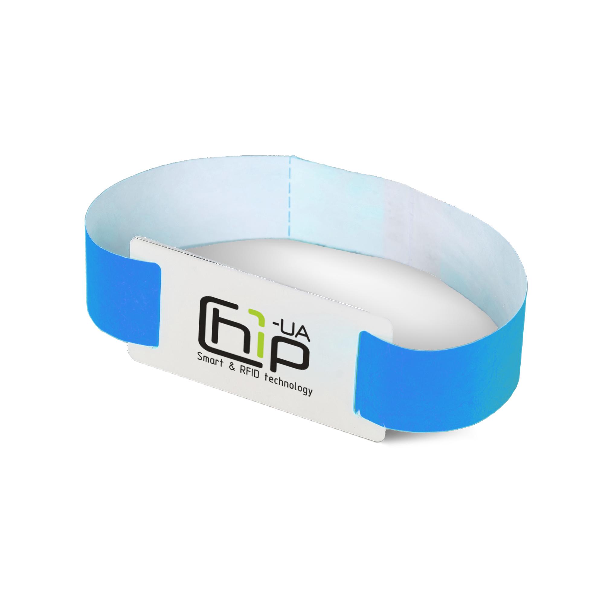 RFID-браслет Mifare Ultralight EV1 з повнокольоровим друком на контрольному ремінці