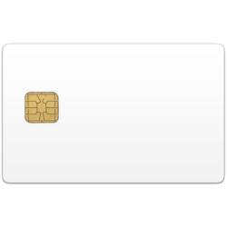Контактна пластикова смарт-карта SLE4428/SLE5528