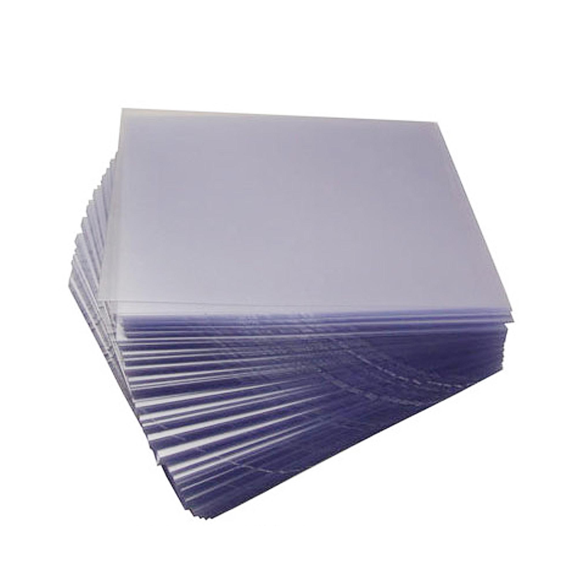Ламинат для производска пластиковых карт с клеевым слоем (0,08 мм) формата А4, прозрачный