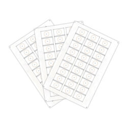 Сырье (инлей) для производства RFID-брелоков Fudan 1K (24 чипов на листе формата A4)