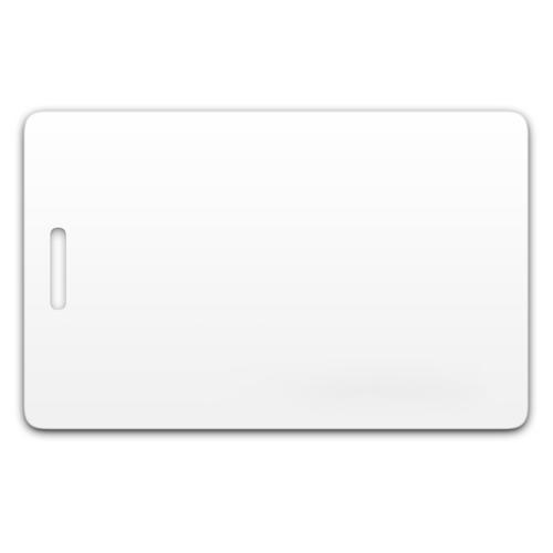 Chip-UA | Бесконтактная пластиковая RFID-карта с прорезью с чипом Em-Marine