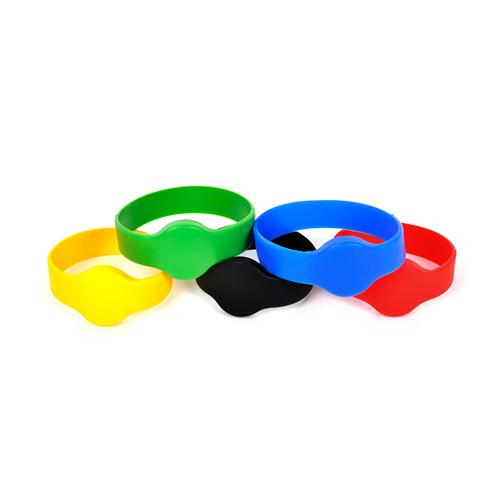 Chip-UA | Бесконтактный перезаписываемый цельносиликоновый водонепроницаемый RFID–браслет с чипом HID Prox 2