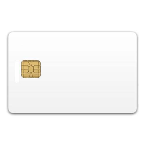 Chip-UA | Контактная пластиковая смарт-карта с чипом SLE4428/SLE5528