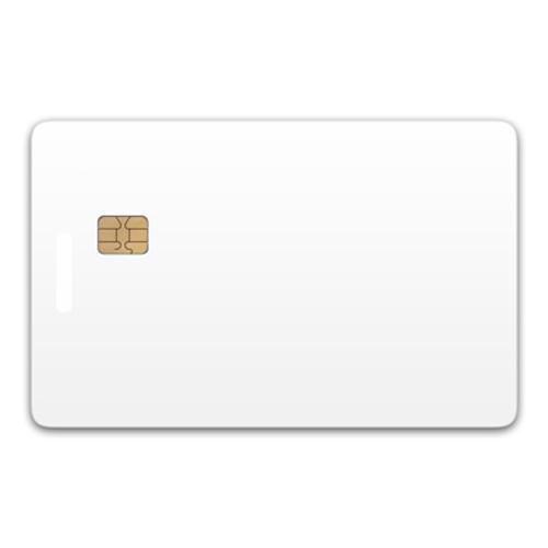 Chip-UA | Контактная пластиковая смарт-карта с чипом SLE4442/ SLE5542