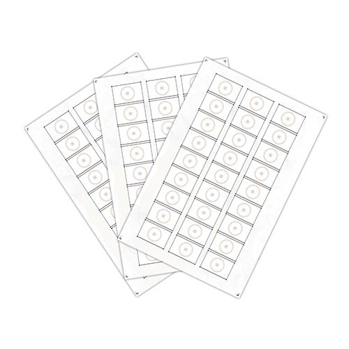 Chip-UA | Сырье для производства бесконтактных пластиковых RFID-карт с чипом Atmel (Temic) T5557, T5577 (27 чипов на листе формата A4)