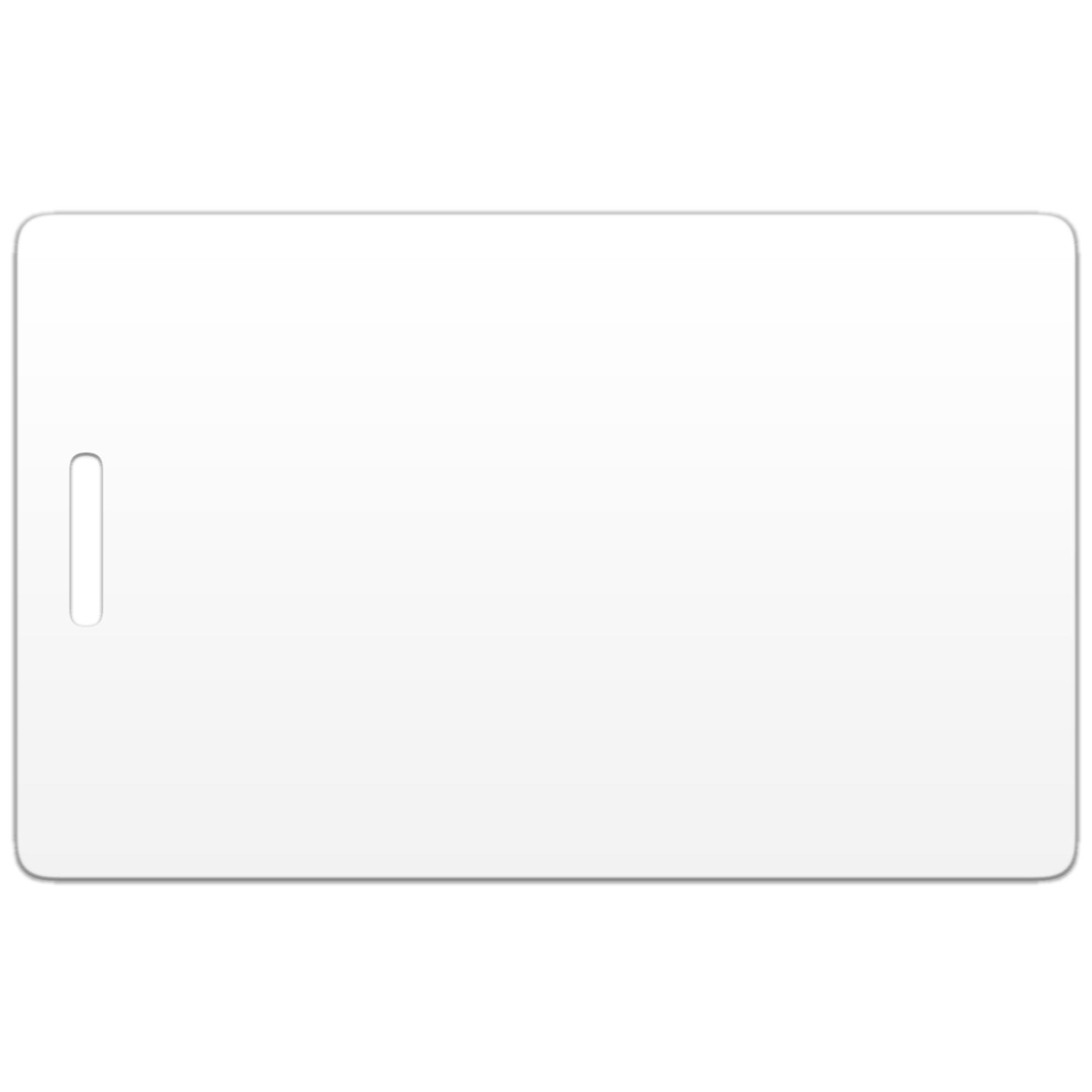 Бесконтактная пластиковая RFID-карта с чипом Em-Marine и с прорезью